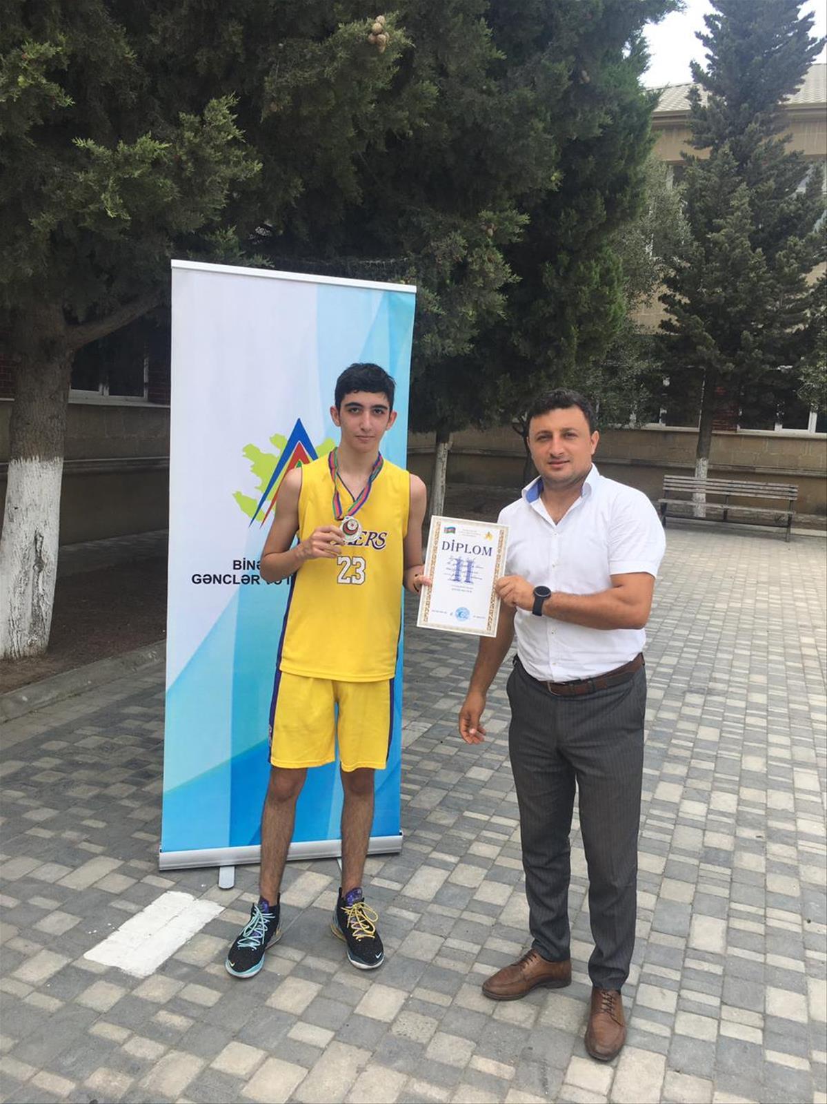 """26 iyul Gənclər və İdman Nazirliyinin yaranması gününə həsr olunmuş """"Basketbol"""" turniri keçirildi"""
