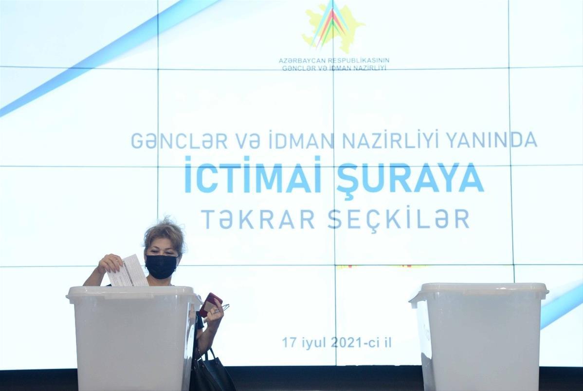 Gənclər və İdman Nazirliyi yanında İctimai Şuraya təkrar seçkilər keçirilib